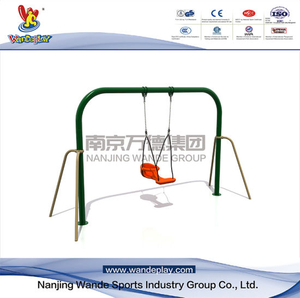 Outdoor Single Seats Swing Playset per Baby in The Park