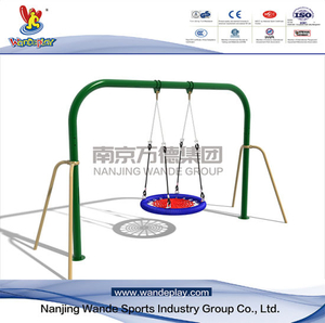 Outdoor Nest Swing Playset Nest Seat per bambini