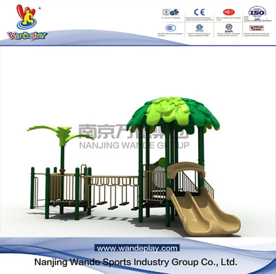 Forest Series Amusement Tree House Playset nel parco