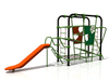 Wandeplay Teenager Plastic Rope Nets Climbing Playground per Fitness Park